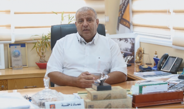 طرعان: القاء قنبلة صوتية على منزل رئيس المجلس عماد دحلة