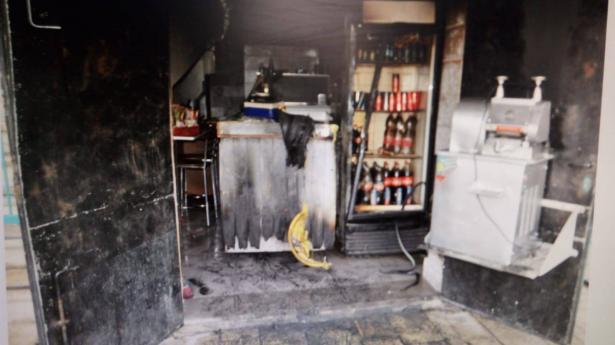 شبهات ان حريق المطعم في عكا متعمد