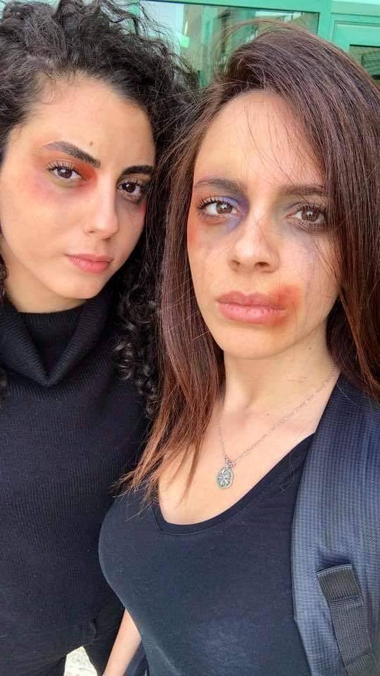 هكذا عبرت طالبات بحيفا عن تنديدهن للعنف ضد النساء
