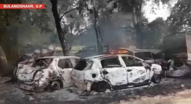 أعمال عنف في الهند بعد ذبح بقرة.. فيديو