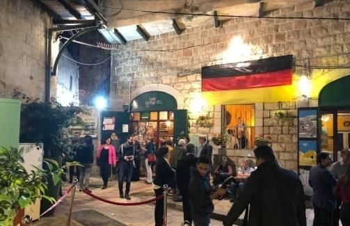 نقل السفارة الألمانية الى الناصرة في احتفال إستعراضي