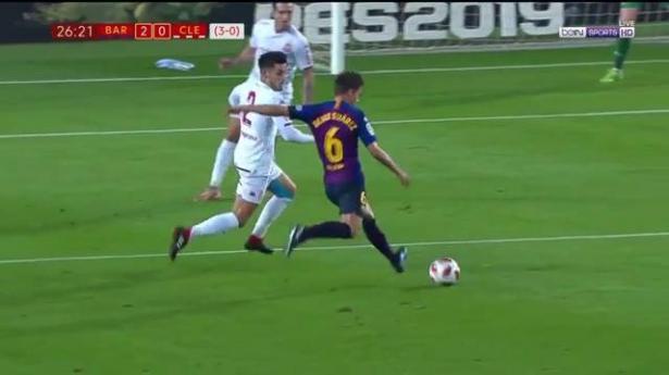 برشلونة يعبر إلى ثمن نهائي الكأس بفوز ساحق على ليونيسا