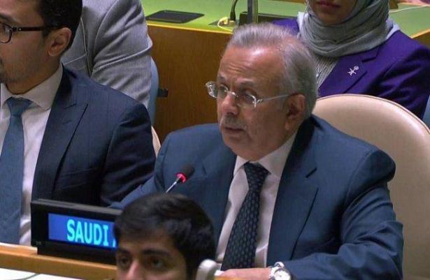 مندوب الرياض بالأمم المتحدة يدين قصف المستوطنات.. فيديو