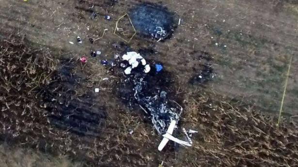 شاهد.. لحظة مقتل حاكمة ولاية مكسيكية في تحطم طائرة هليكوبتر