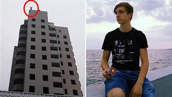 أم تصور لحظة سقوط ابنها من الطابق الـ14 قبل وفاته.. فيديو