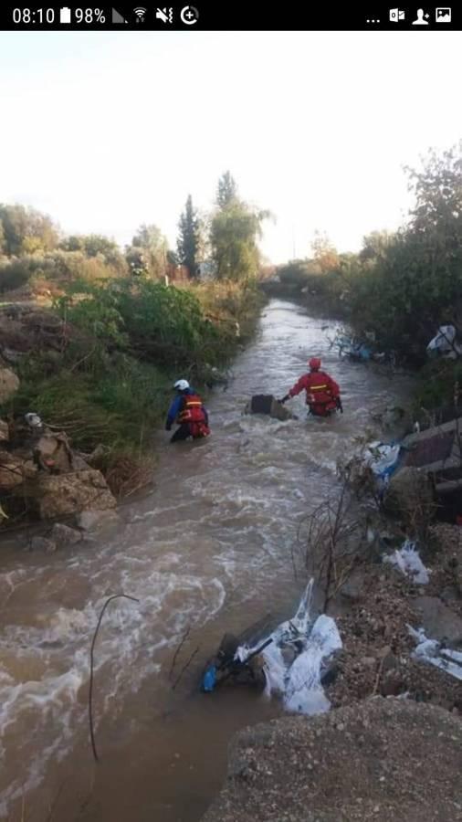 مصري للشمس: المفقود تزحلق في وادي بالطيبة ودخل المياه ولم يتمكن من الخروج