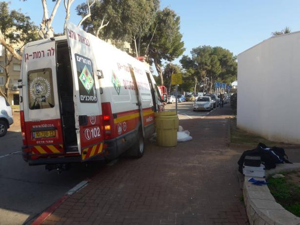 تسرّب مواد خطيرة في مستشفى تل هشومير وطواقم الانقاذ تعمل على امتصاصها