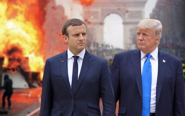 فرنسا تطلب من ترامب عدم التدخل في شؤونها الداخلية