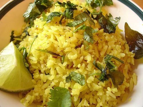 أرز بنكهة الكمون