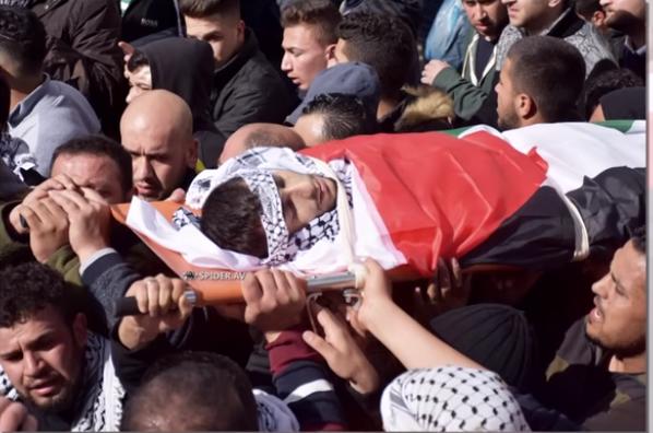 استشهاد 295 فلسطينيًا برصاص الجيش الاسرائيلي، و 29 الف جريح خلال عام 2018