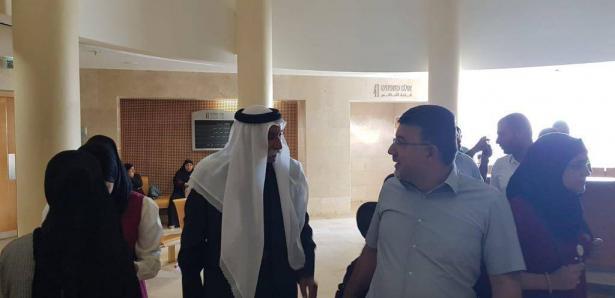 في سجن الرملة: النائب جبارين يلتقي الشيخ صياح الطوري