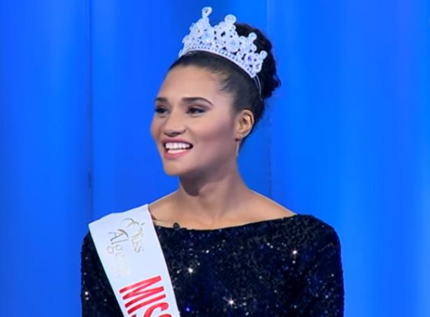 دنيا بطمة تدافع عن ملكة جمال الجزائر