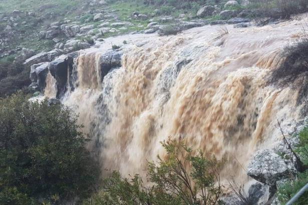 ارتفاع منسوب مياه بحيرة طبريا بـ 8.5 سنتيمتر