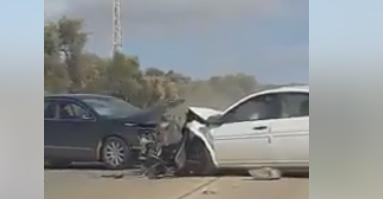توثيق مخيف،  رصد سائق يقود بتهور على طريق نابلس ينتهي بحادث