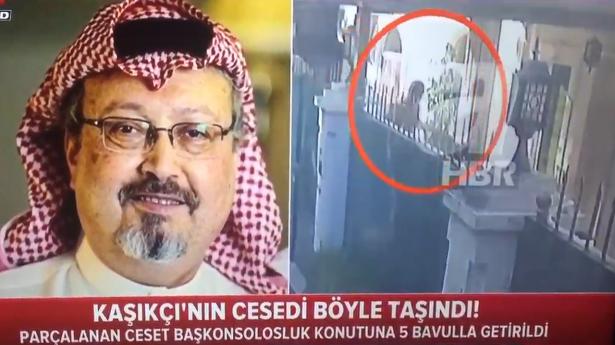 فيديو يظهر نقل جثة خاشقجي خارج السفارة بعد تقطيعها (شاهد)