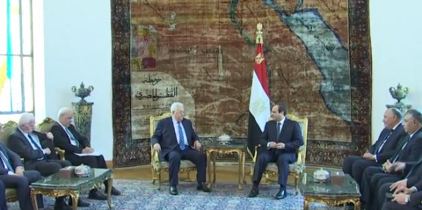 قناة إسرائيلية: لقاء عباس مع السيسي كان مليئا بالخلافات