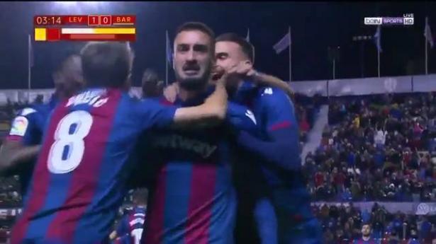 بدلاء برشلونة يسقطون في فخ ليفانتي والحسم يتأجل لموقعة كامب نو