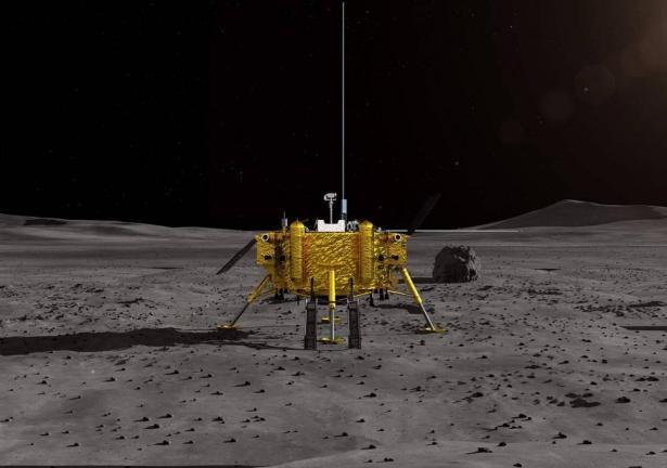 لأول مرة في التاريخ.. هبوط مسبار صيني على الجانب المعتم للقمر
