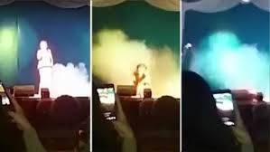 شاهد .. لحظة وفاة مغنية روسية على المسرح