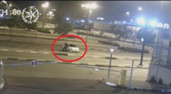 توثيق لشاب من قلنسوة بعد اتهامه باقتحام سيارات في نتانيا وسرقة اغراض منها