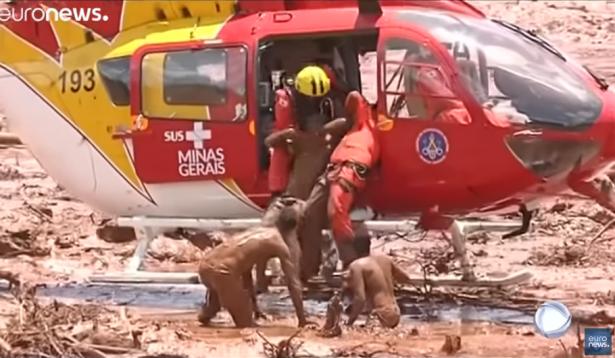 ارتفاع حصيلة ضحايا انهيار السد في البرازيل إلى 40 قتيلاً