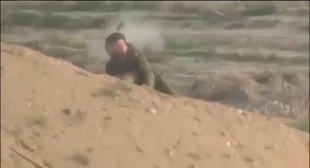 سرايا القدس تنشر فيديو قنص جندي اسرائيلي على حدود غزة