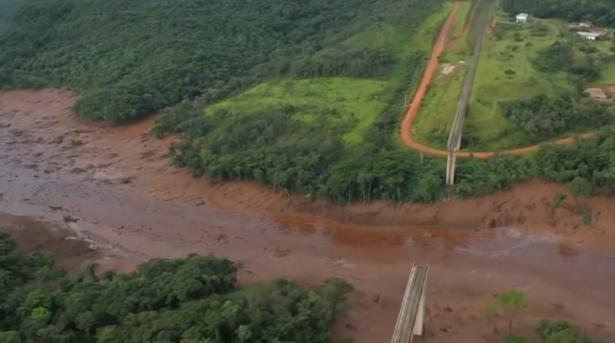 ارتفاع حصيلة انهيار سد في البرازيل إلى 150 قتيلا