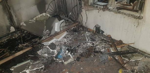 جهاز تدفئة يسبب حريقًا بمعلوت ترشيحا