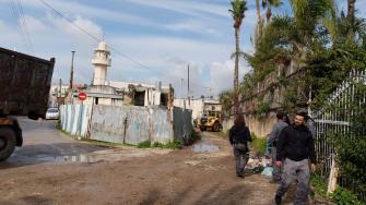 مديرية الأراضي تقترف جريمة بهدم منزل عائلة عربية في الرملة