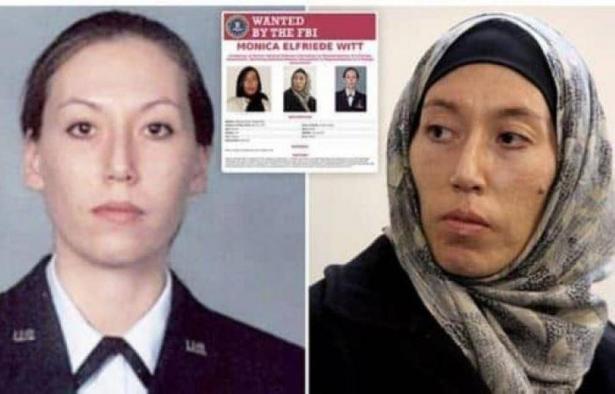 ضابطة لمكافحة التجسس بالجيش الأميركي..