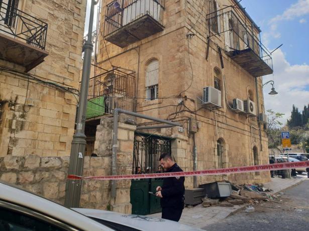 انهيار شرفة منزل في القدس دون اصابات