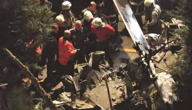 مقتل أربعة جنود بتحطم طائرة مروحية عسكرية في إسطنبول