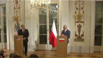 رفيد يتحدث للشمس عن مؤتمر وارسو وأهميته والمسائل التي ستعرض