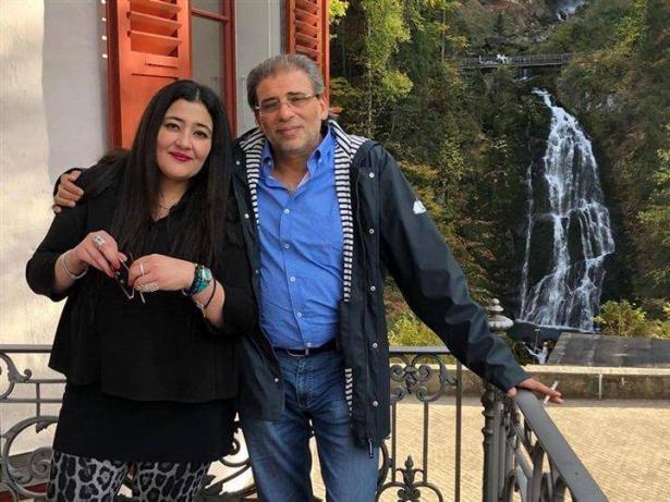 ماذا قالت زوجة خالد يوسف تعليقا على الفيديو الجنسي؟