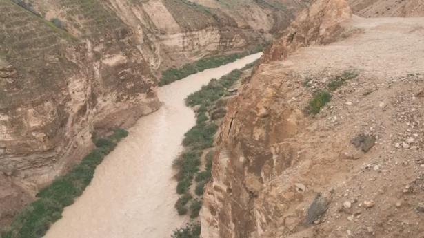 تحذير للجمهور من السيول والفيضانات في منطقة الغور والبحر الميت