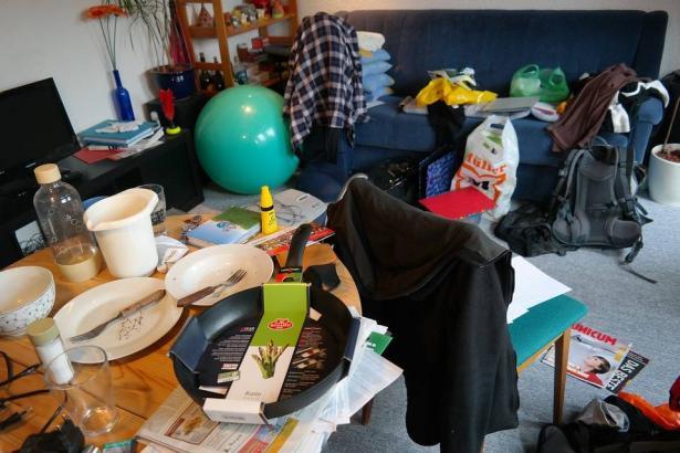 تأثير الفوضى والنظافة على الحالة النفسية