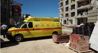 فاجعة مرة اخرى في ورشة بناء في حريش:  مصرع عامل اجنبي سقط عن ارتفاع