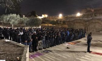ابو طعمة للشمس: مفتش الشرطة طلب من المحكمة تثبيت امر اغلاق مصلى باب الرحمة