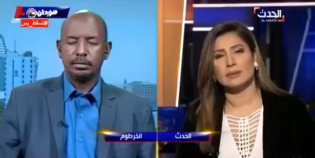 بالفيديو... ضيف سوداني ينام على الهواء مباشرة