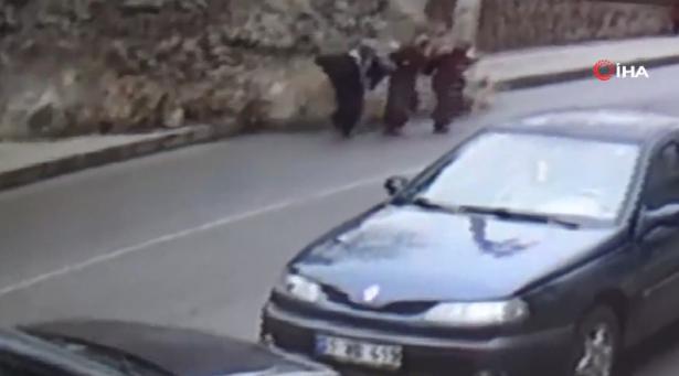 نجاة ثلاث تركيات من موت محتم (فيديو)