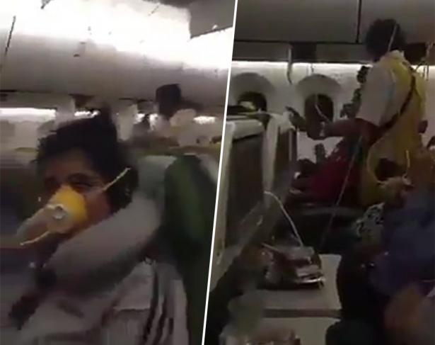 بالفيديو .. اللحظات الأخيرة للطائرة الإثيوبية قبل السقوط