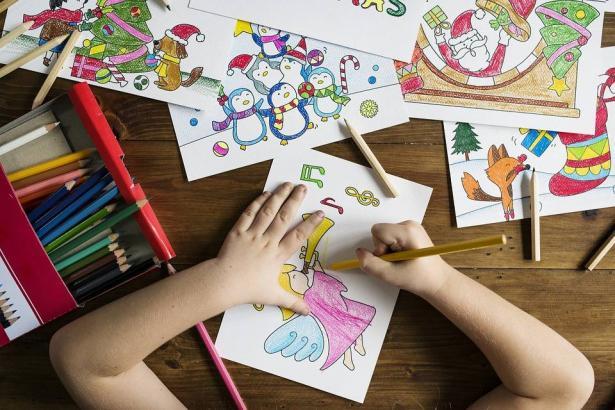 العلاج بالفن والرسم
