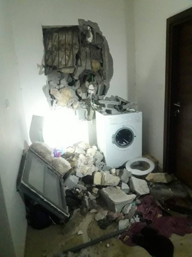 انهيار حائط على منزل بمدينة سخنين والتسبب بأضرار