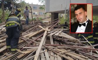 مصرع الشاب فراس ياسين (30 عاما) من عرابة جراء سقوطه عن سقالات في ورشة بناء بحيفا