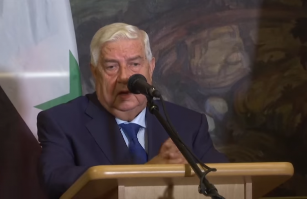 """وزير الخارجية السوري يهدد: سوريا لن تتردد في استخدام القوة لاستعادة """"كل شبر"""" من الجولان"""