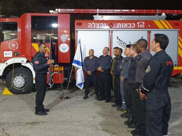 لاول مرة: ارسال وفد من سلطة الاطفاء والانقاذ للمساعدة في اخماد حرائق بأثيوبيا