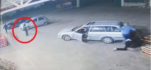 شاهد: توثيق حادثة اطلاق النار في طمرة واصابة شاب