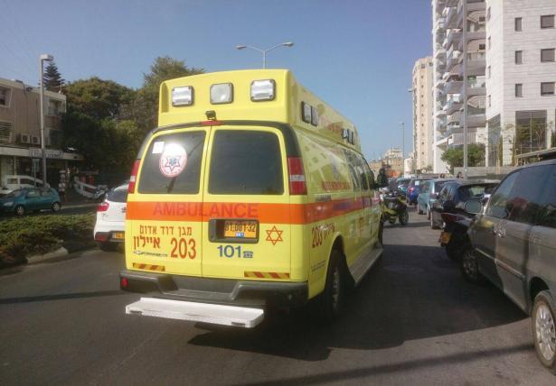 سقوط عامل بورشة بناء في حيفا ونقله لمستشفى رمبام