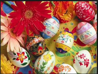 رمزية بيض العيد في الفصح المجيد