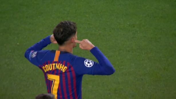 برشلونة يكتسح مانشستر يونايتد ويتأهل إلى نصف النهائي
